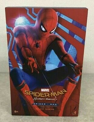 $ CDN677.72 • Buy HOT TOYS Movie Masterpiece 1/6 Scale Spider Man HOME COMING DELUXE VERSION