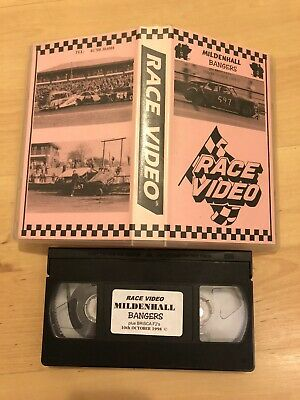 VHS Video: BriSCA F2 Stock Cars - Oct 10th 1998 - Mildenhall Novice Of The Year • 1£