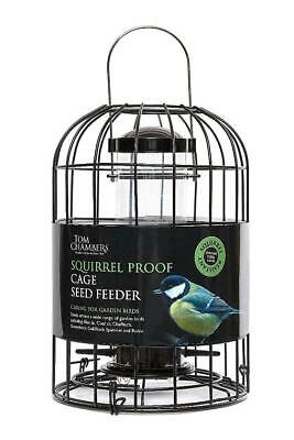 Tom Chambers Squirrel Proof Cage Seed Feeder • 16.99£