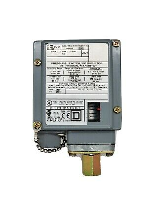 AU187.44 • Buy SQUARE D 9012GAW-5 3 To 150 PSIG PRESSURE SWITCH *UM
