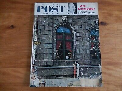 $ CDN11.45 • Buy Vintage Magazine, 1960 Saturday Evening Post, August 27 - ; Norman Rockwell Cov.