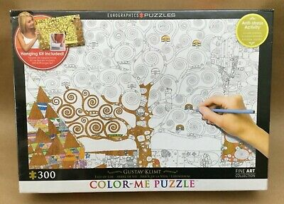 $ CDN14.62 • Buy *New* Gustav Klimt Tree Of Life Eurographics Color Me Puzzle 300 Pieces Jigsaw