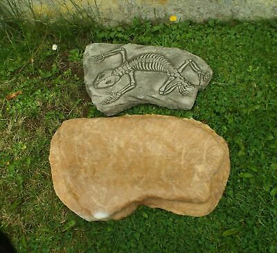 Latex Mould To Make Garden Ornament Lizard Stepping Stone Concrete IN STOCK  • 37.99£