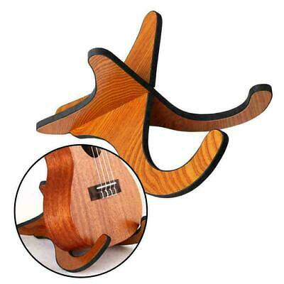 AU8.05 • Buy Folding Ukulele Violin Bass Guitar Stand A Frame Floor Holder Hanger Ra P8D3