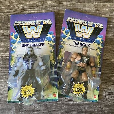 $65 • Buy Masters Of The Universe UNDERTAKER & THE ROCK NEW