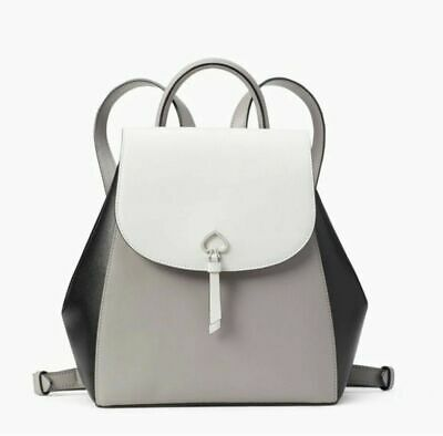 $ CDN146.62 • Buy 🌸NWT KATE SPADE ADEL MEDIUM FLAP BACKPACK TOTE BAG Colorblock LEATHER