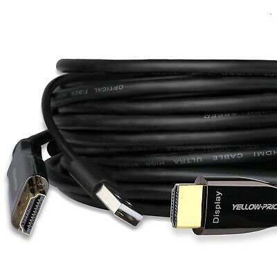 AU165.29 • Buy For Newest Apple TV,Samsung QLED TV,Xbox,PS5, 8K HDMI 2.1 Fiber Optic Cable, 10M