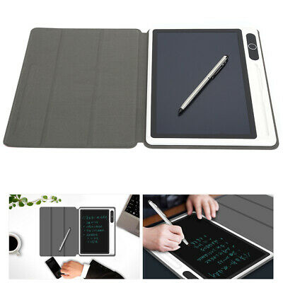 AU31.20 • Buy LCD Writing Tablet Electronic Notepad Handwriting Drawing Pad Board Leather Case