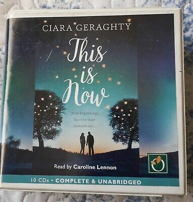 This Is Now By Ciara Geraghty, CD Audio Book, 10 X CDs • 9.80£