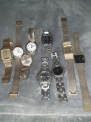 Watches Spares Or Repair Job Lot • 5.70£