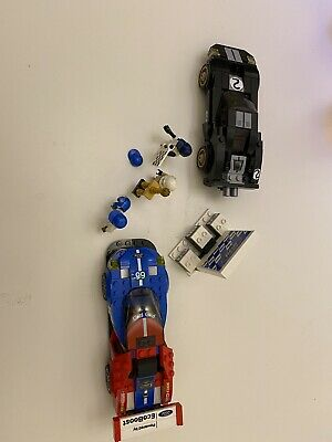 Lego Speed Champions 75881, 2016 Ford GT & Ford GT40 • 35£