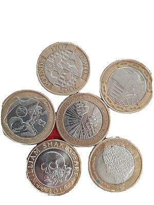 Rare 2 Pound Coin Job Lot • 16£