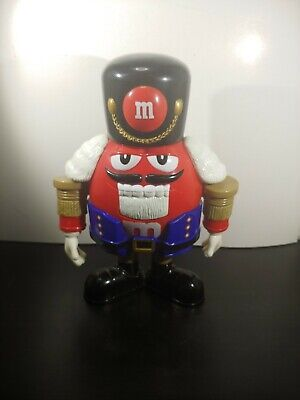 $8.09 • Buy M&M's Limited Edition Holiday Chocolate Candy Dispenser Nutcracker Sweet Red MM