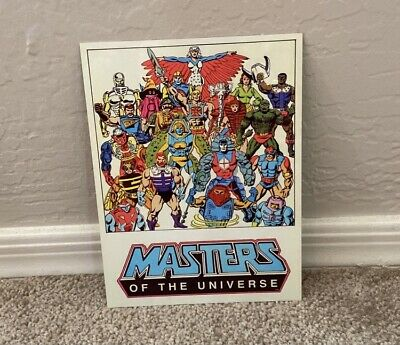 $10 • Buy Vintage Masters Of The Universe Tin Poster Movie Memorabilia