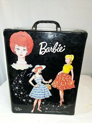 $ CDN95.38 • Buy 1964 Barbie Case Travel Closet And 3 Dolls With Clothes And Accesories