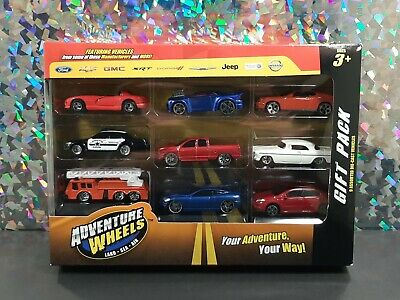 $ CDN16.03 • Buy MAISTO 2013  ADVENTURE WHEELS  Land - Sea - Air ~ 9 Car GIFT PACK NIB NEW!