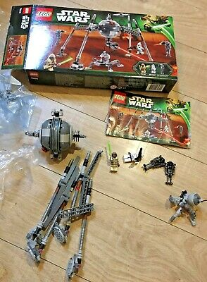 LEGO Star Wars Homing Spider Droid (75016) With Box, Instructions & Mini Figures • 20£