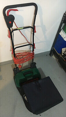 Qualcast SCM32A 400w Electric Cylinder Lawn Mower - Used 4 / 5 Times Since New • 36.99£