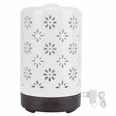 AU26.55 • Buy 100ml Ceramic Aroma Diffuser Essential Oil Diffuser Ultrasonic Humidif For Home