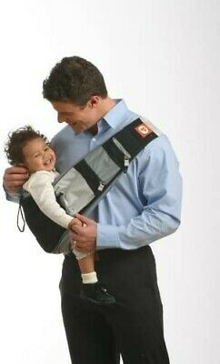 Premaxx Baby Bag (RRP £49.99) Black & Grey  Sling And Hip Carrier 0-18 Months • 4.10£
