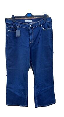 Simply Be Wide Leg Indigo Jeans - 20 • 5£