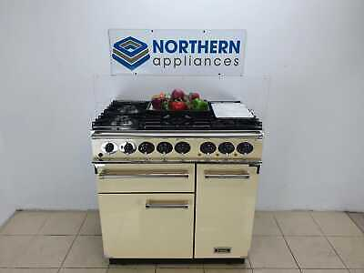 £1550 • Buy Falcon Range Cooker Dual Fuel 90cm In Good Order Steam Cleaned J109