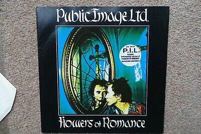 PUBLIC IMAGE LTD  - Flowers Of Romance Rare 12   UK Virgin VS 39712 • 3£