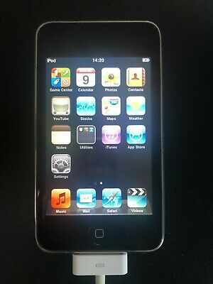 Apple IPod Touch 8GB Black 2nd Generation MB528BT A1288 IOS 4.2.1 Grade A- • 15£