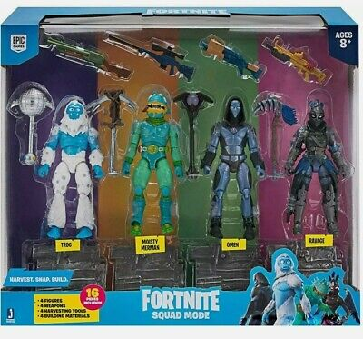 $ CDN38.69 • Buy Fortnite Squad Mode 4 Toy Figure Pack (FNT0109) Action Figures Pack