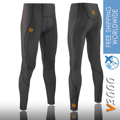 Mens Sports Tights Pant V3000 Run Football Muscle Recovery Gym Skins XS/S/M/L/XL • 33.32£