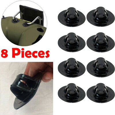 AU16.33 • Buy 8 Pcs Outboard Motor Mounting Bracket Stand Accessories For Kayaks Canoe Fishing