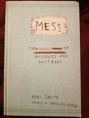 Mess: Drawing Sketch Activity Book By Keri Smith (Paperback, 2010) • 2.60£
