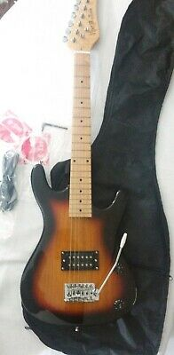 Viper GE36 By BGuitars 6 - String Electric Guitar Starburst Black With Case • 64.40£
