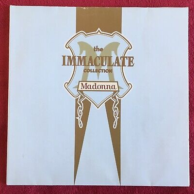 "Madonna The Immaculate Collection 12"" Vinyl Double LP 1990 • 8.50£"