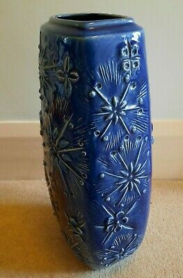 Scheurich Kosmos Floor Vase 263-46 West German Pottery Fat Lava Retro Vintage  • 35£
