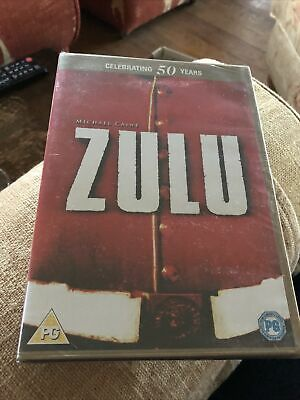 Zulu 50 Years Edition Stanley Baker Michael Caine Cy Endfield Paramount Dvd New • 0.99£