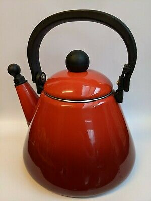 Le Creuset Stove Top Kettle Red/Orange • 16£