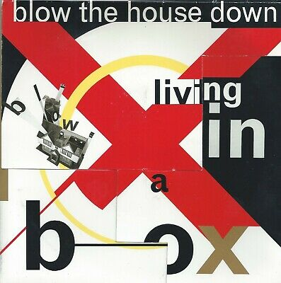 Living In A Box - Blow The House Down - Limited Edition Cover • 1.50£