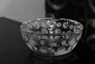 Lalique  Tokyo  Ashtray Frosted & Clear C.1980's • 49.99£