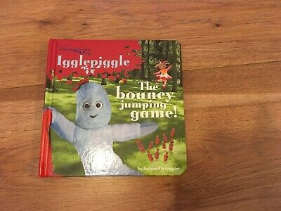 Igglepiggle The Bouncy Jumping Game Board Book • 3£