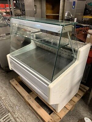 Zoin Refrigerated Glass Display Chiller Sandwich Serve Over Counter Cafe Fridge • 300£