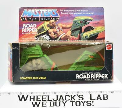 $60 • Buy Road Ripper W Box Complete 1983 He-Man Masters Of The Universe MOTU Mattel