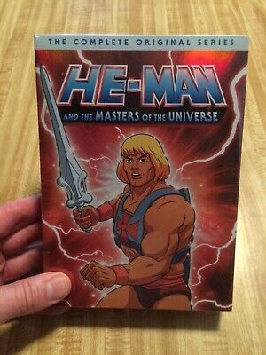$34.95 • Buy He-Man And The Masters Of The Universe The Complete Original Series Brand New
