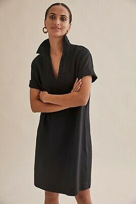 AU59 • Buy COUNTRY ROAD LINEN POPOVER DRESS  In Sage  RRP$159 Size 8