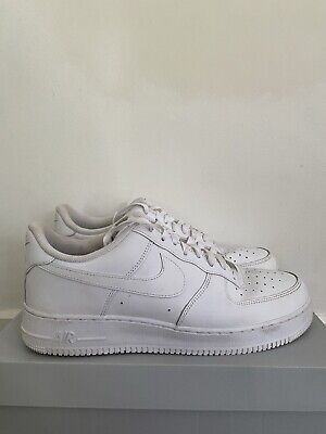 AU85 • Buy Nike Air Force 1 White Size US 12 With Original Box.
