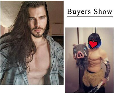 $74.99 • Buy Silicone Male Chest Realistic Fake Muscle Half Body Suit For Cosplay Fake Chest