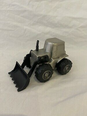 AU20 • Buy Tractor Front End Loader Pewter Finish Money Box.