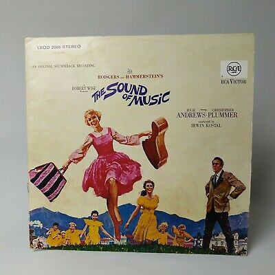Rodgers And Hammerstein The Sound Of Music Original Soundtrack Vinyl 1965 • 6.99£