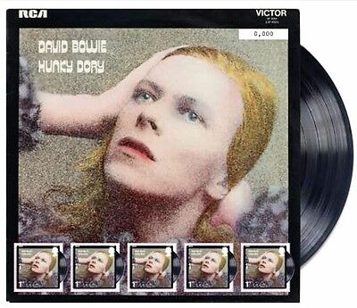 David Bowie Hunky Dory Fan Sheet SOLD OUT #6177 + First Day Envelope Royal Mail • 25£