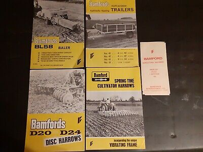 Bamford Farm Machinery Brochures • 12£